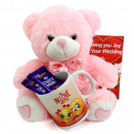 Soft Milky Mug - Happy Birthday Mug, 2 Dairy Milk, Teddy 10 inches and Card