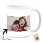 Personalized Love Birds Mug & Card