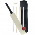 Wooden Cricket Set with Carry Bag