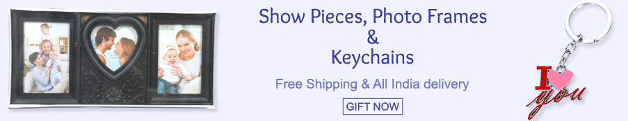 Show Pieces, Photo Frames & Keychains