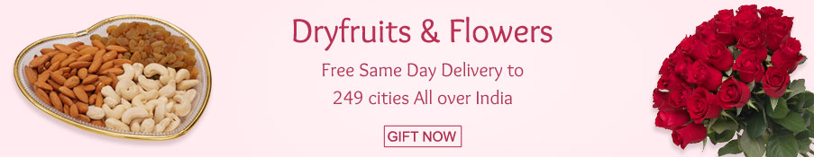 Dryfruits & Flowers