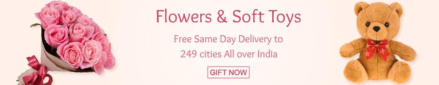 Birthday Flowers & Soft Toys