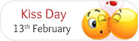 Kiss Day - 13th Feb